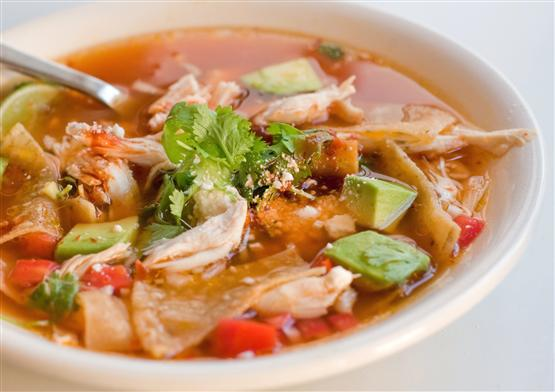 Spicy Mexican Chicken Soup | Mexican Food Recipes