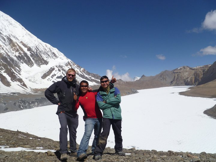 Highest Lake in the world(Tilicho Lake-5200Mtr)