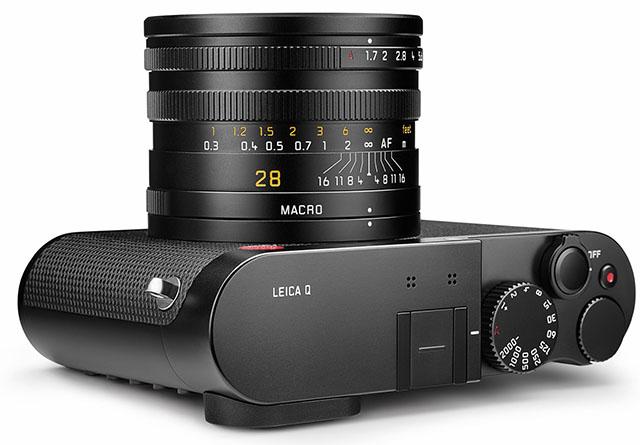 Fotografia del Summilux 28 mm/f1.7 ASPH della Leica Q
