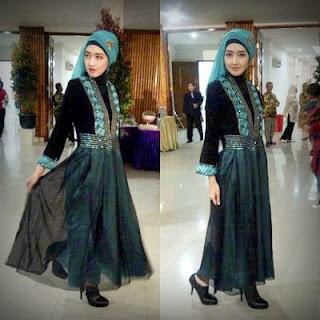 baju dress muslimah