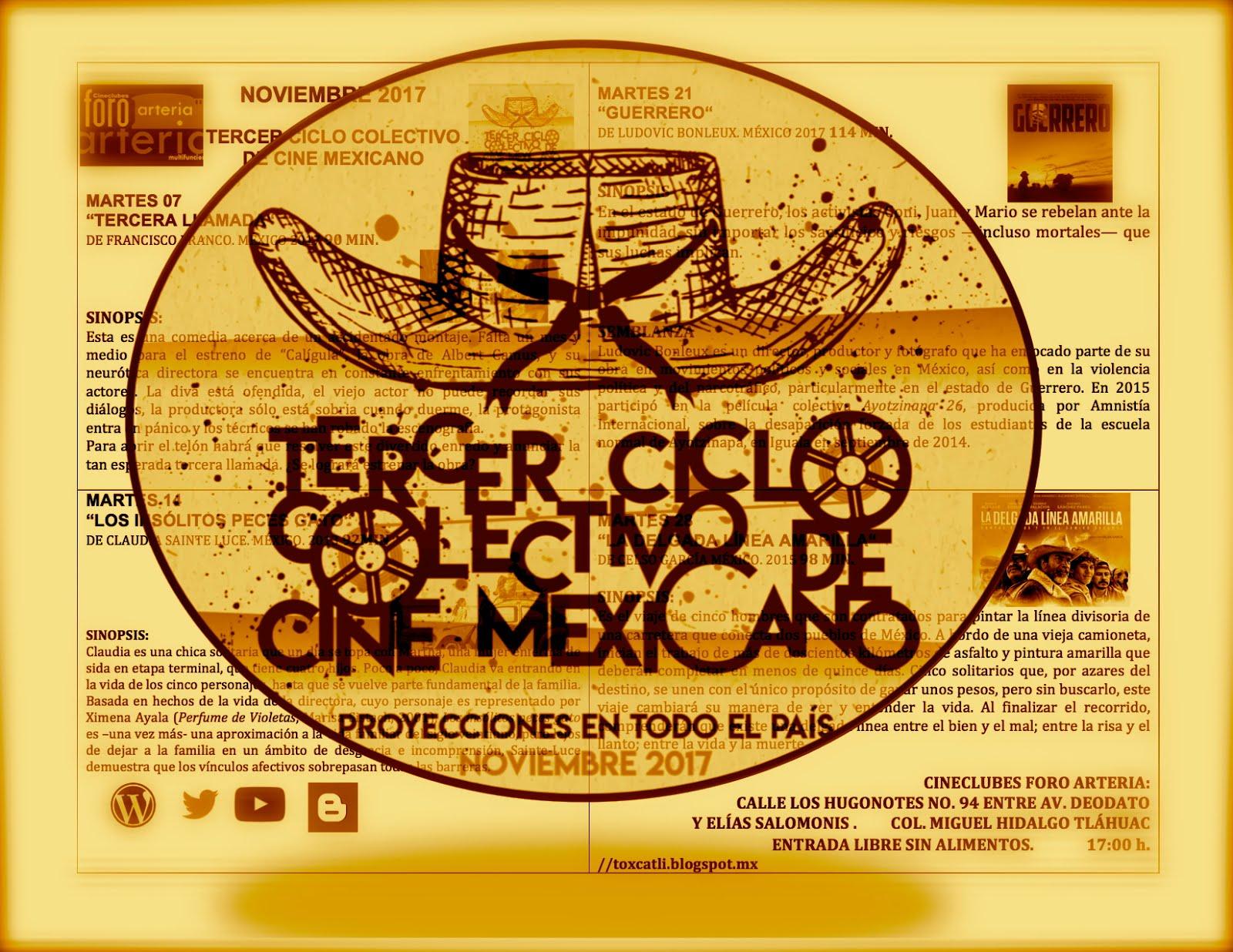 3Ciclo Colectivo de Cine Mexicano