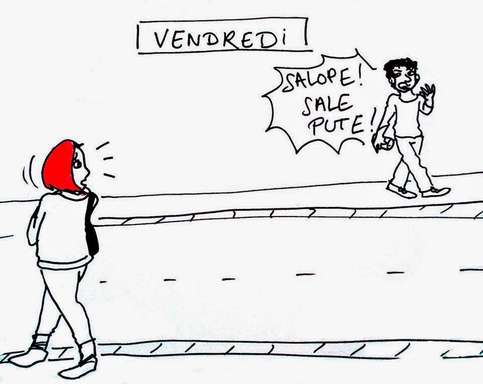Harcèlement de rue du vendredi
