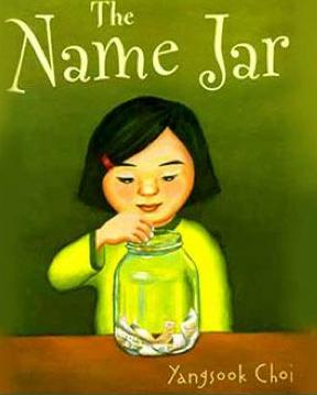 http://www.amazon.com/The-Name-Jar-Yangsook-Choi/dp/0440417996
