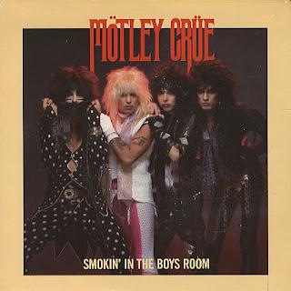 Motley Crue - Smokin In The Boys Room Lyrics