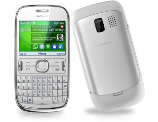 Nokia Asha 302 QWERTY Mobile