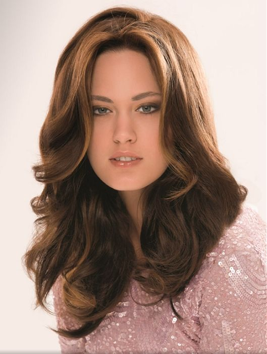 Long Center Part Romance Hairstyles, Long Hairstyle 2013, Hairstyle 2013, New Long Hairstyle 2013, Celebrity Long Romance Hairstyles 2329