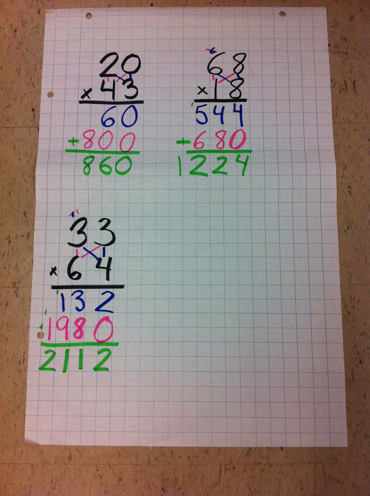 Hopping Into Grade 5: Math Homework