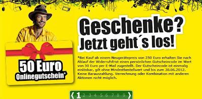50 Euro-Gutschein für ProMarkt.de bei Kauf ab 250 Euro