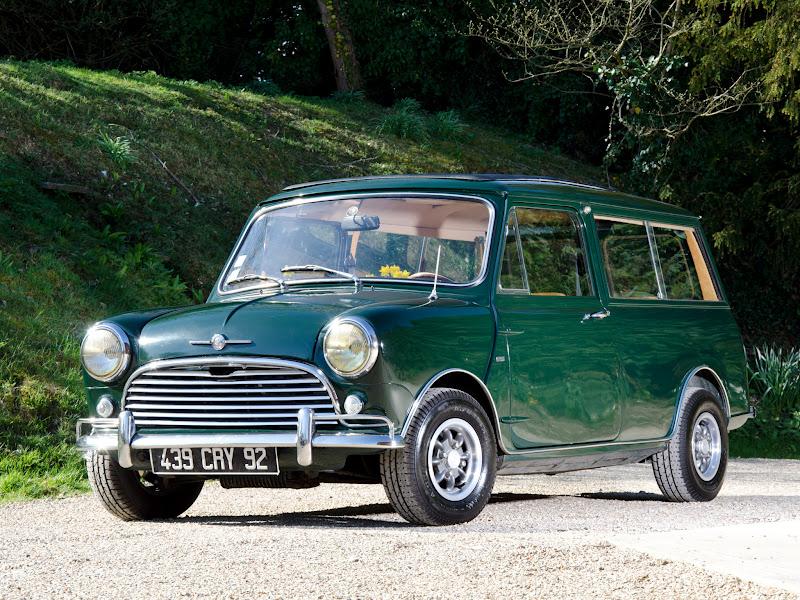 Retro Cars Morris Mini Traveller Ado15 1960 69