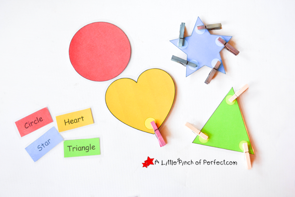 Printable Shapes With Names The Names of The Shape And