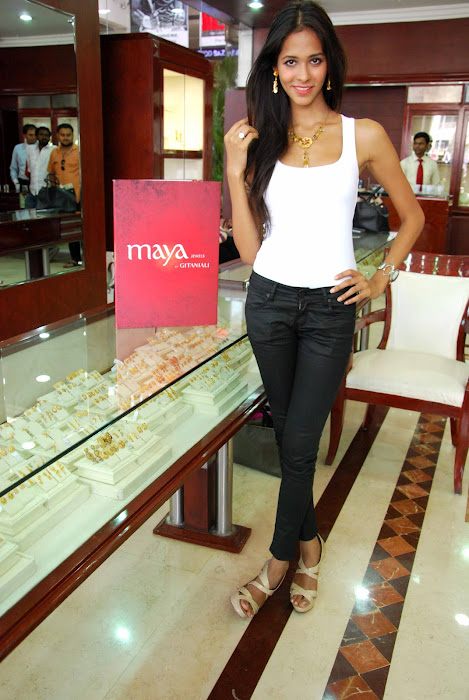 femina miss india finalist at maya store hot photoshoot