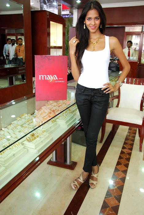 femina miss india finalist at maya store hot photoshoot