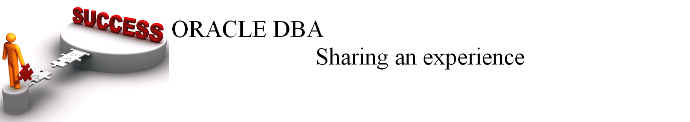 Oracle DBA - sharing an experience