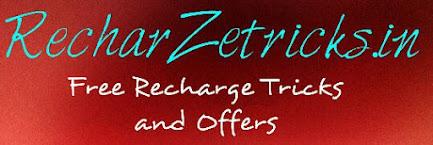 Recharzetricks.in Free Recharge Tricks & Offers