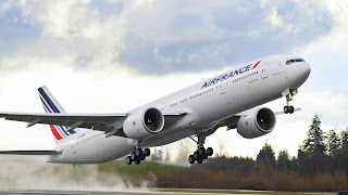 Airfrance Airplane Takeoff HD Wallpaper