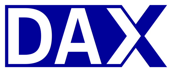 DAX as representation for larger German companies