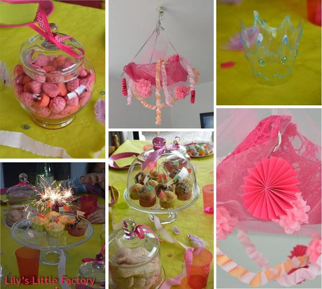 d co anniversaire de princesse 2 d fi diybox lily 39 s little factory blog diy bretagne. Black Bedroom Furniture Sets. Home Design Ideas