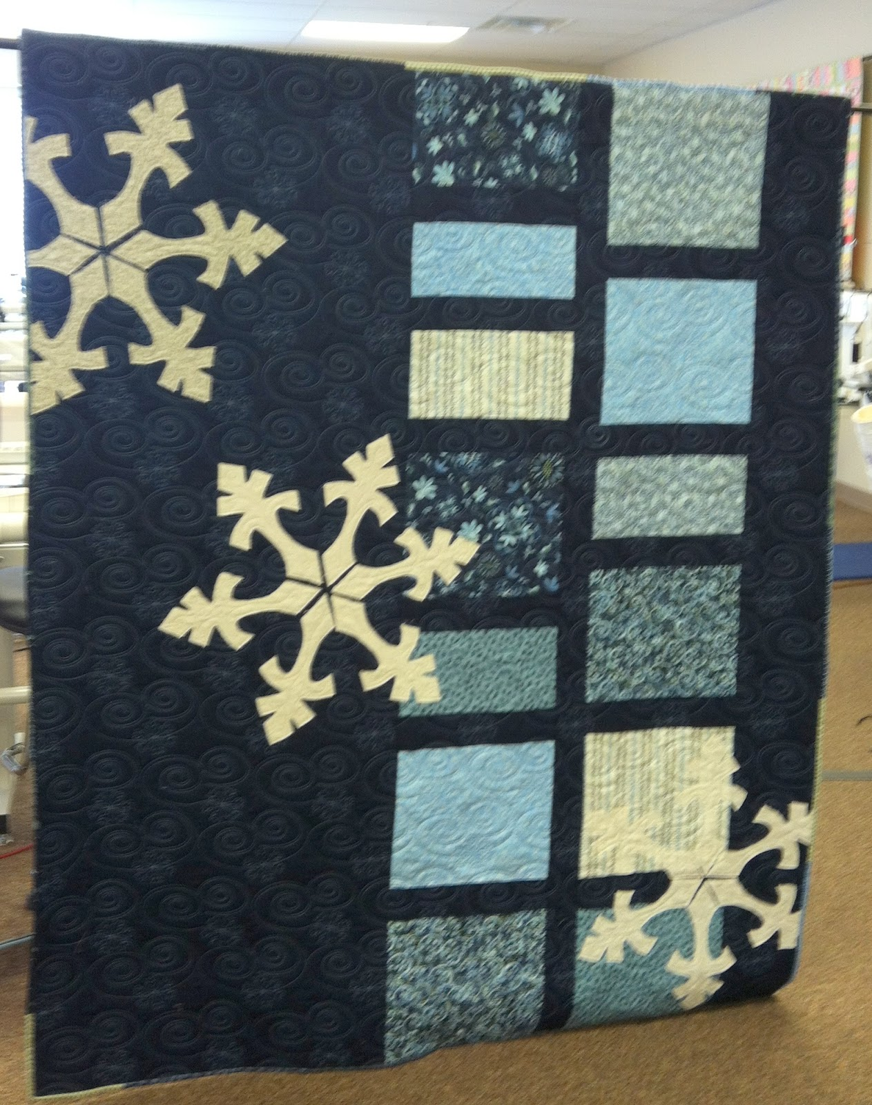 Quilting Together: Snowflake Quilt