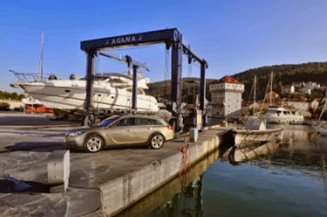 Dalmatien-Tour im Opel Insignia Country Tourer