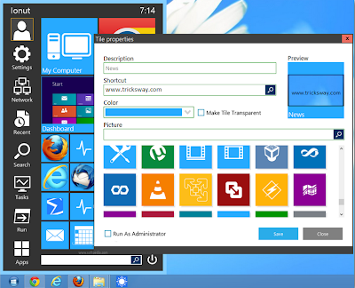 Exclusive Start Menu For Windows 7 And 8