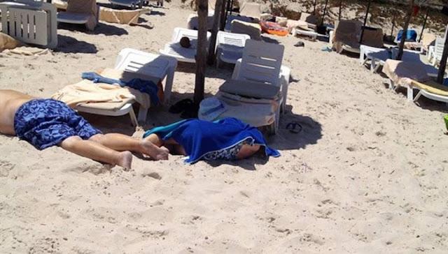 """Δώσατε Ιθαγένεια; Το τίμησαν με μακελειό (ξανά) στην Τυνησία - Ένοπλοι """"θέρισαν"""" τουρίστες - 27 νεκροί! (εικόνες)"""