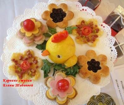 украшение блюд