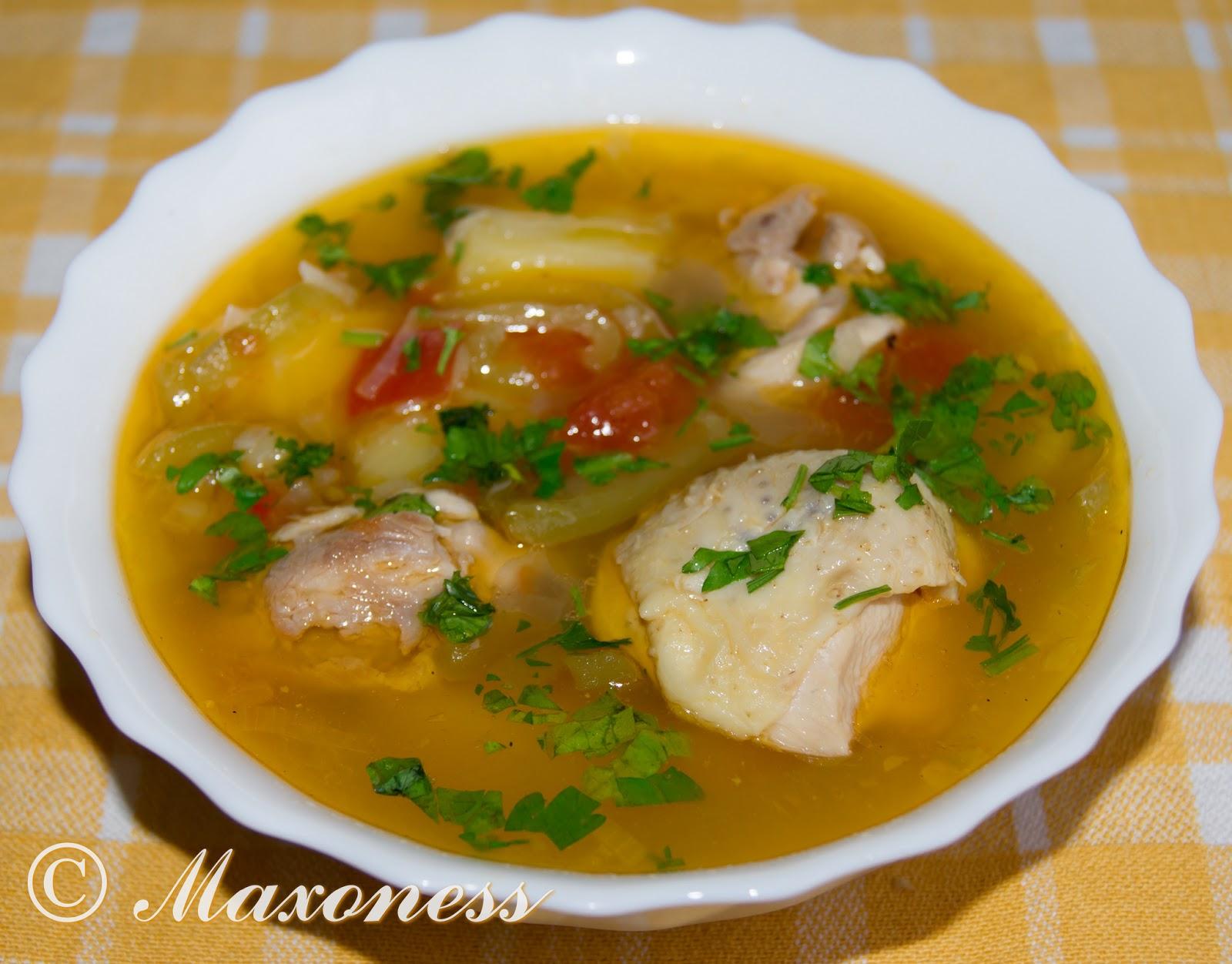 Рецепт первых блюд из курицы простые и вкусные