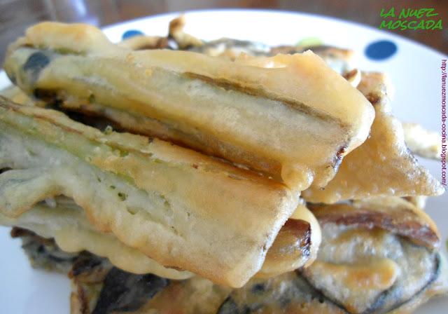 cardi fritti in pastella - cardo en tempura