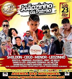 CHOPP LOUNGE CLUB - GRAVAÇAO DO DVD DE JOÃOZINHO DA PATRÃO.