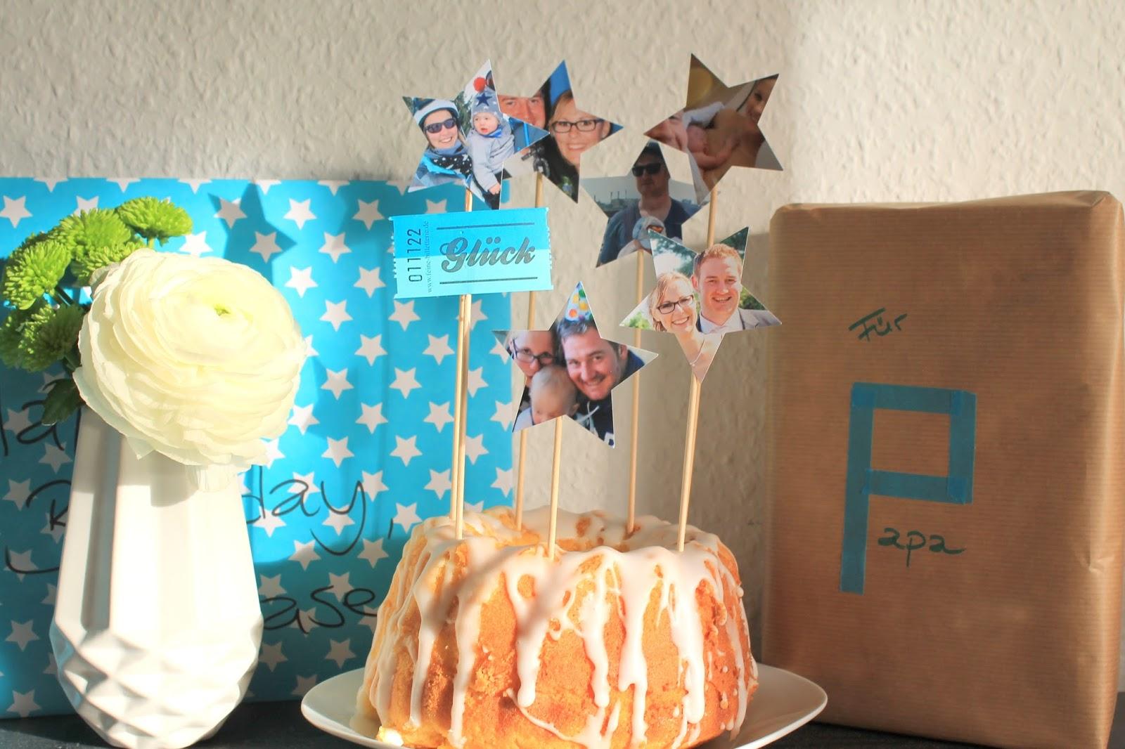 Geburtstagstisch mit Kuchen Sternstunden