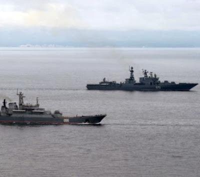 Rusia Kirim Dua Kapal Perang ke Dekat Pantai Suriah