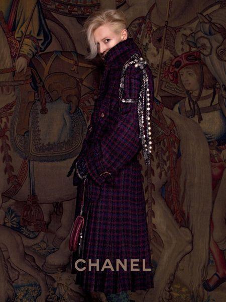 Tilda Swinton per Chanel