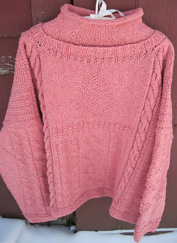 Knitting Pattern Gansey Sweater : Yarns With A Twist: Lismi Knits Trunk Show and New Classes ...