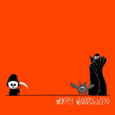 plantilla invitación halloween