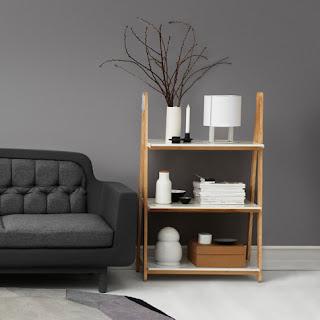 una estantería, para decorar cualquier estancia
