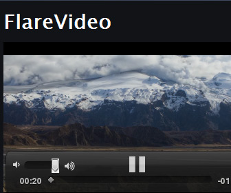Flare-html5-Video-player