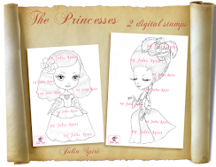 New from Julia Spiri Stamps