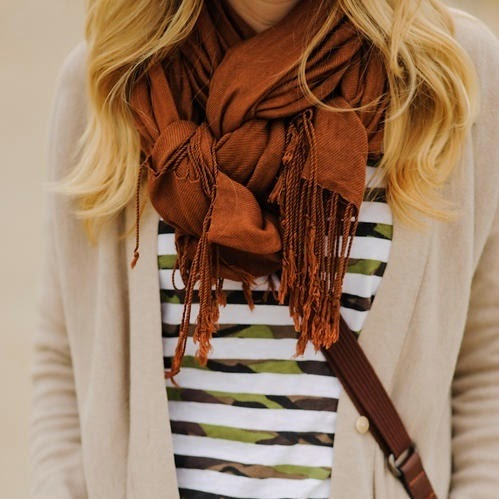 travel essentials:  the travel scarf!
