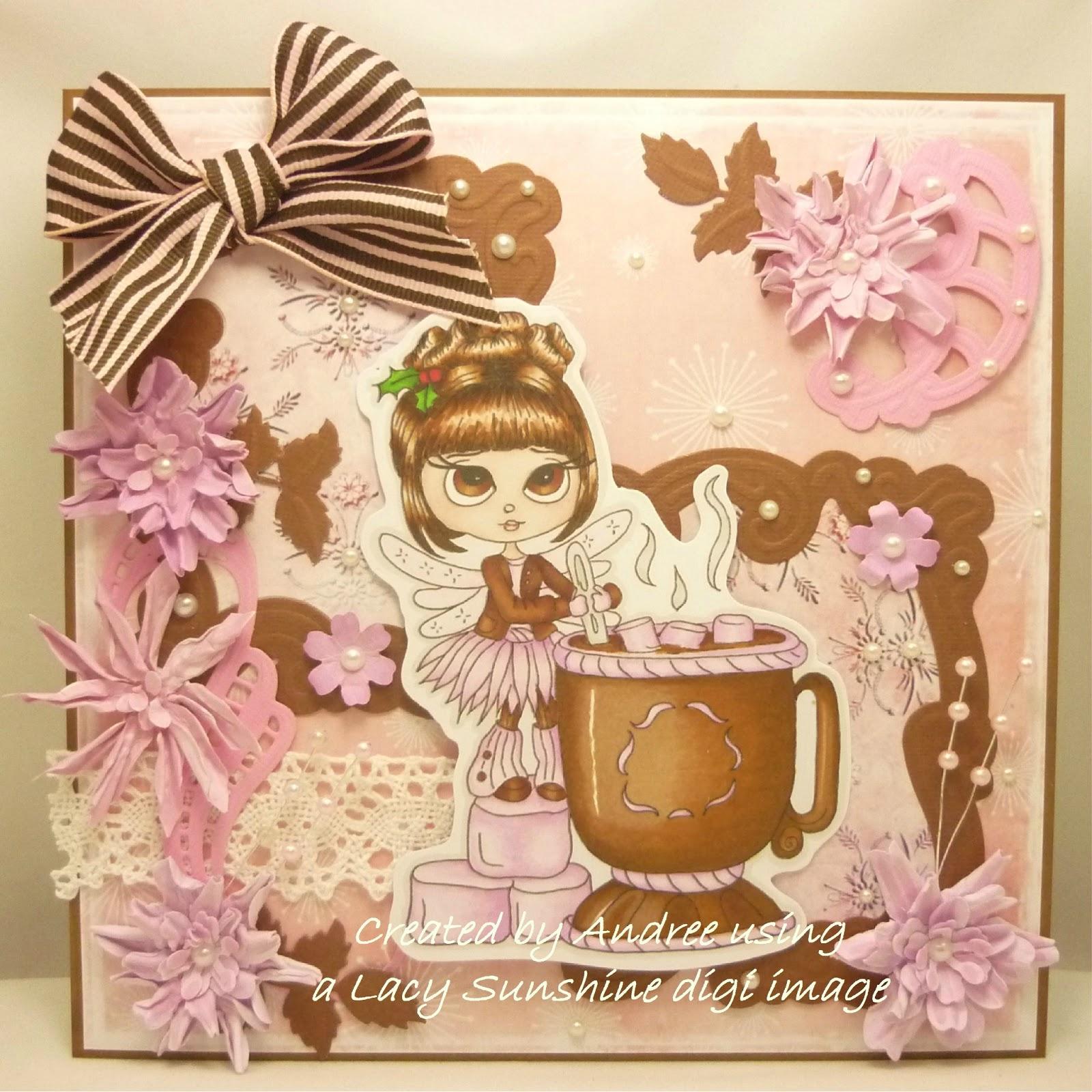 Ace Cards Coco Santas Hot Chocolate
