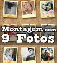 fazer montagens de 9 fotos