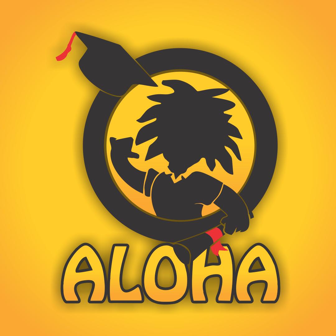 Identidade Visual e web site para Aloha Formandos (empresa de formaturas)