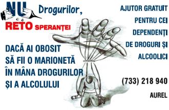 Centrul RETO – Ajutor gratuit pentru cei dependenți de droguri și alcoolici