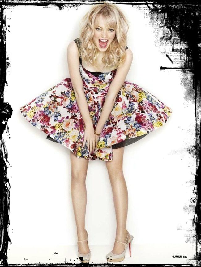 Emma Stone Fashion Style Inspiration Glamour Uk In Matthias Vriens Mcgrath Lens