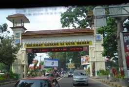 Gapura Masuk Kota Medan