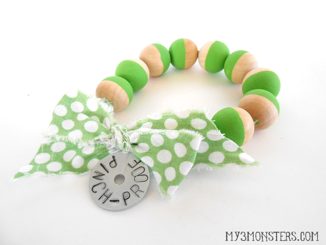 Pinch-Proof St. Patrick's Day Bracelets at my3monsters.com