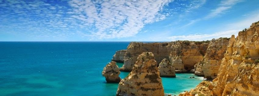 Belle couverture facebook portugal paysage