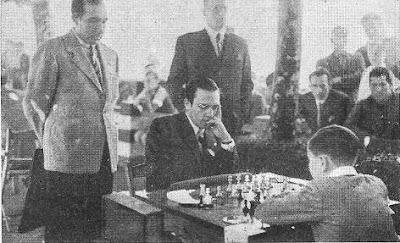 Partida de ajedrez Lupi - Pomar