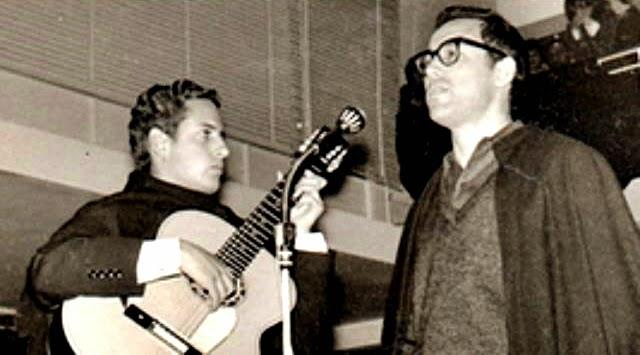 Rui Pato com Zeca Afonso
