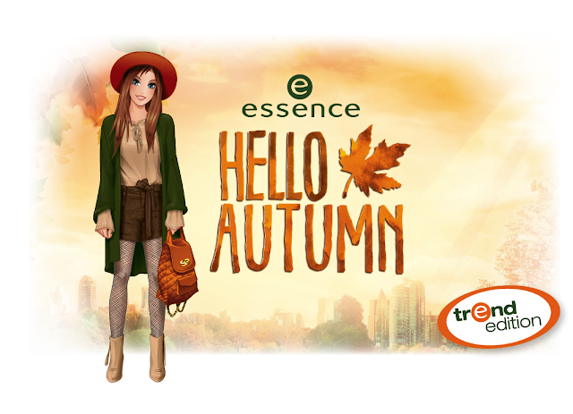 """Hello Autumn"" trend edition essence cosmetics"