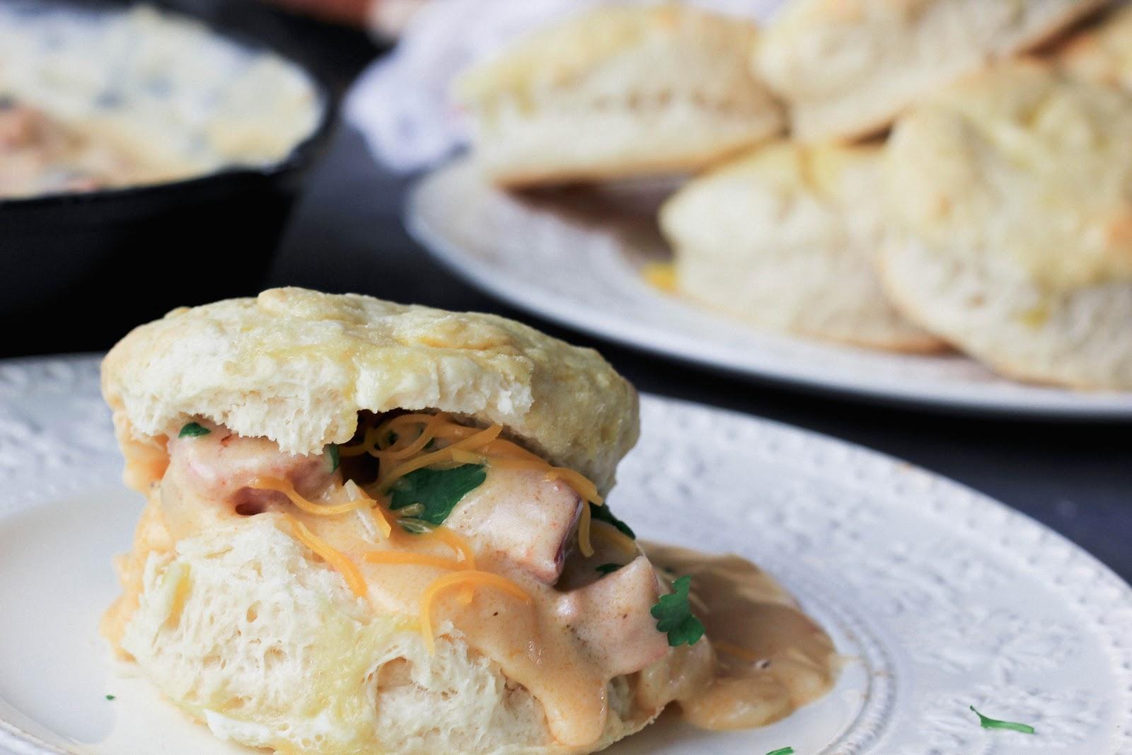 Southern Souffle: Buttermilk Biscuits & Cajun Sausage Gravy